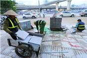 34 dự án lát đá vỉa hè tại Hà Nội có sai phạm