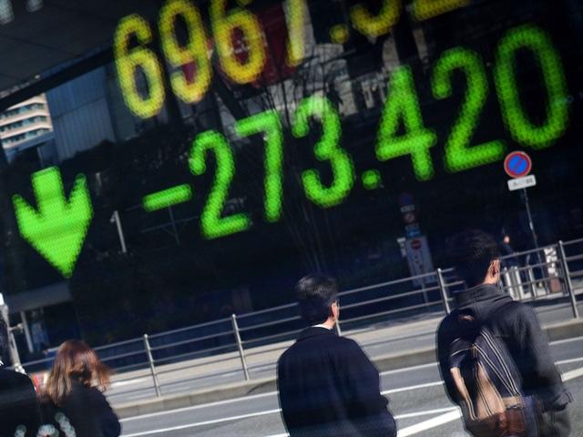 Nỗi sợ về lợi suất khiến chứng khoán châu Á giảm mạnh
