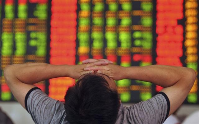 Khối ngoại tháo chạy khỏi chứng khoán Trung Quốc, bán ròng kỷ lục