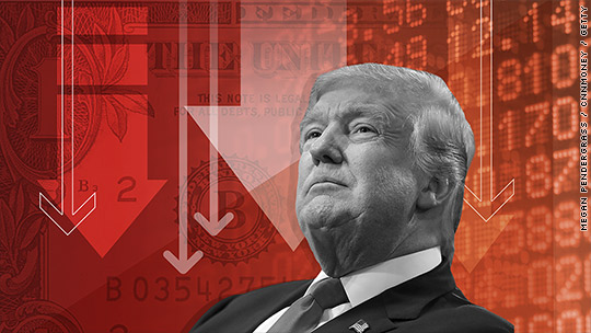 Hang Seng bốc hơi gần 600 điểm sau lời đe dọa áp thuế của ông Trump