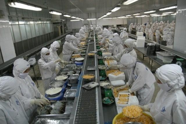Sức hút của ngành công nghiệp chế biến thực phẩm Việt