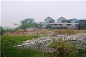 Quy hoạch bán cả đất dưới lòng sông Hoạt