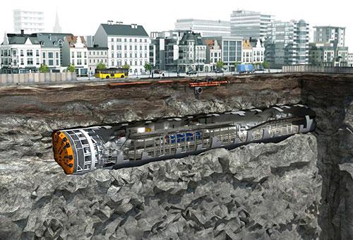 Metro hơn tỷ USD ở Hà Nội dùng công nghệ đào hầm của Italy