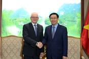 Phó Thủ tướng Vương Đình Huệ hoan nghênh cổ đông Đức mua cổ phần PVI từ PVN