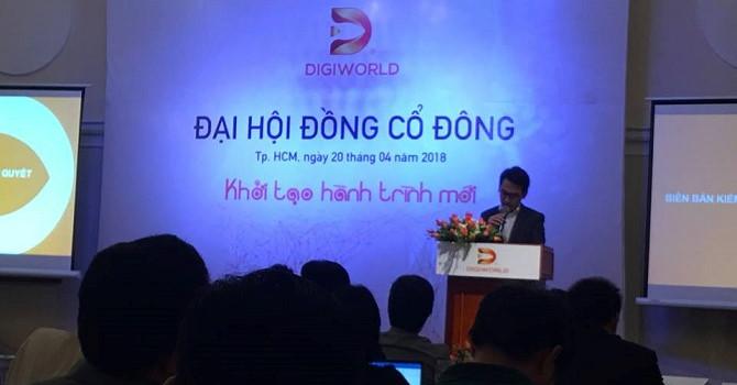 ĐHĐCĐ Digiworld: Lộ tham vọng doanh thu chạm mốc 1 tỷ USD