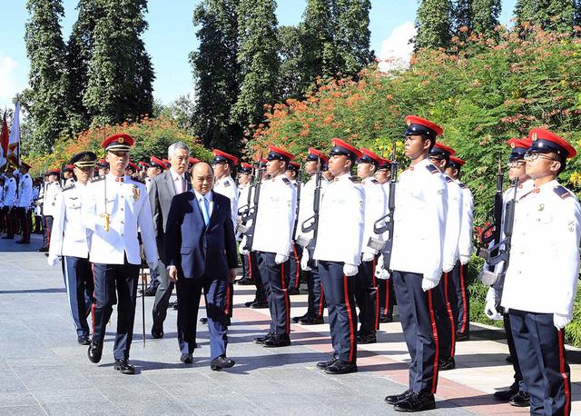 Singapore cam kết tăng đầu tư vào Việt Nam