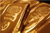 USD suy yếu, vàng bám sát đỉnh 2,5 tháng