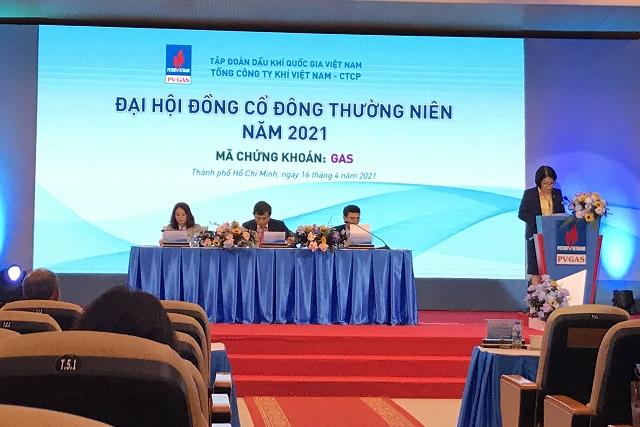 ĐHĐCĐ GAS: Kế hoạch lợi nhuận 2021 thấp nhất trong nhiều năm