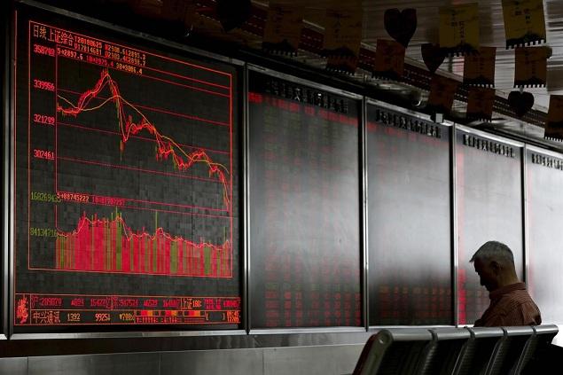 Chứng khoán Trung Quốc chìm sâu vào sắc đỏ