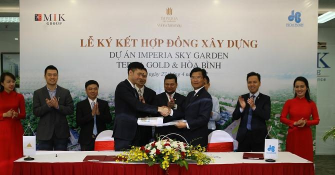 Hòa Bình làm tổng thầu D&B dự án trị giá 2.600 tỷ đồng