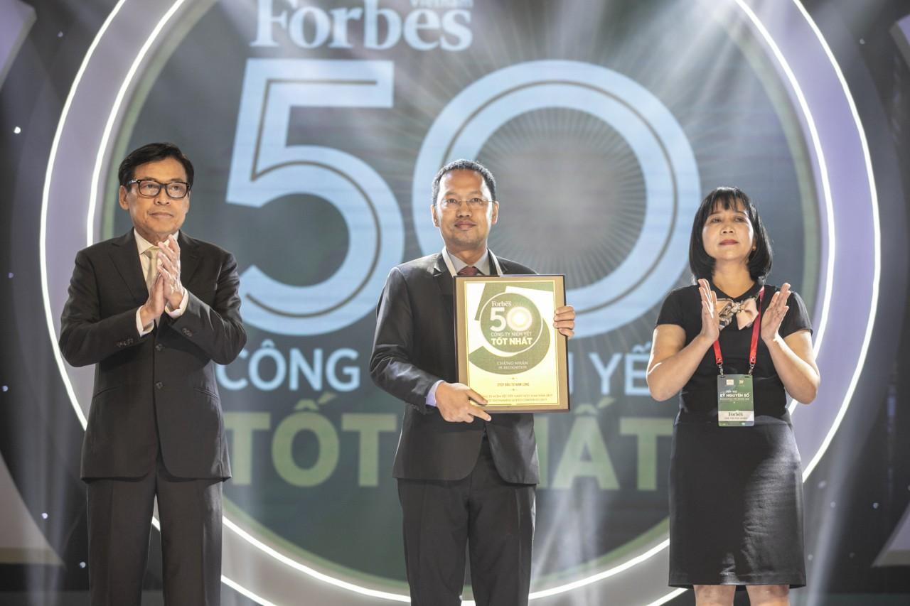 Nam Long lần thứ 4 có mặt trong bảng xếp hạng 50 Công ty niêm yết tốt nhất
