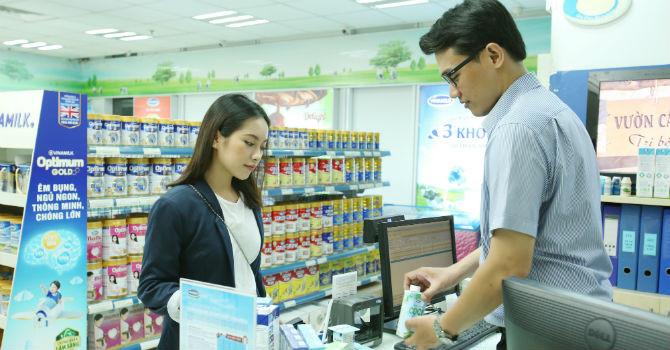 Vinamilk tiếp tục là thương hiệu được lựa chọn mua nhiều nhất