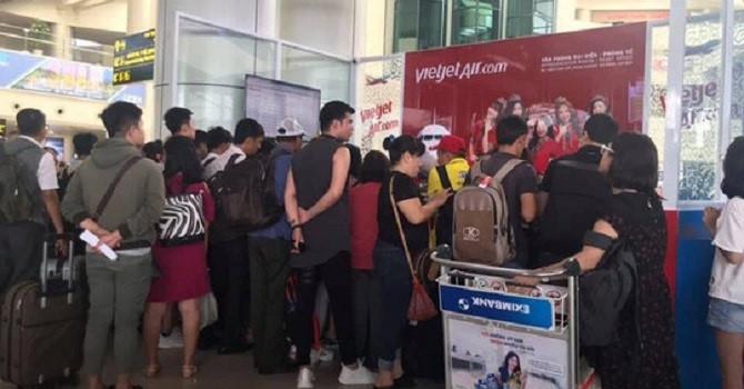 Nhiều chuyến bay Vietjet bị hủy do máy bay giao chậm và nguyên nhân khai thác