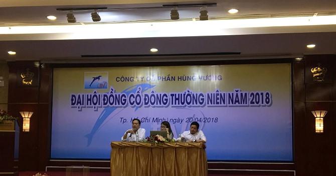 ĐHĐCĐ Hùng Vương: Sẽ bán bớt diện tích nuôi trồng và nhà máy đã đầu tư