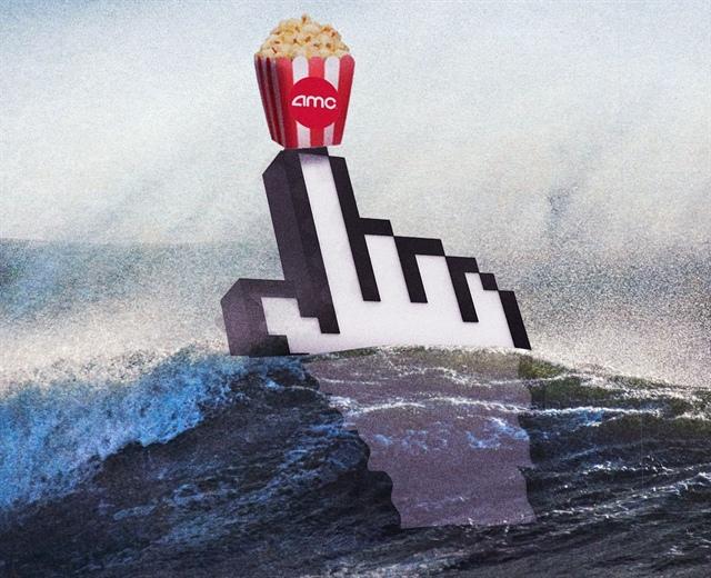 AMC: Ông vua mới của cổ phiếu meme, tăng gần 100% trong 1 phiên