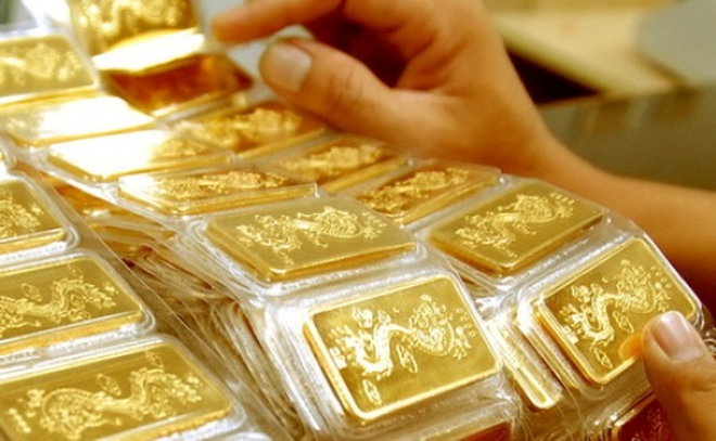 Giá vàng chốt tuần tăng 100 nghìn đồng/lượng