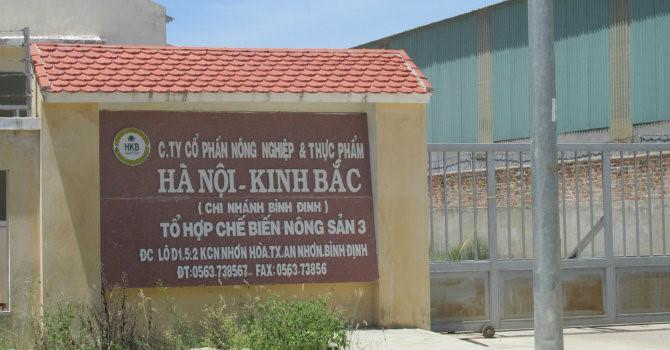 Nông nghiệp và Thực phẩm Hà Nội - Kinh Bắc bị phạt 170 triệu đồng