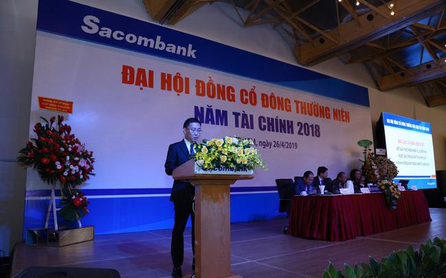 ĐHCĐ Sacombank: Mục tiêu lãi 2.650 tỷ đồng