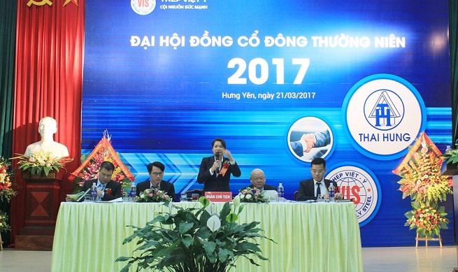 Đại hội đồng cổ đông thường niên 2017: Thép Việt Ý tăng tốc và phát triển trên đường đua mới