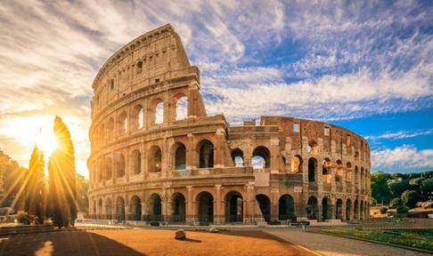 Panorama trên đỉnh vòm La Mã