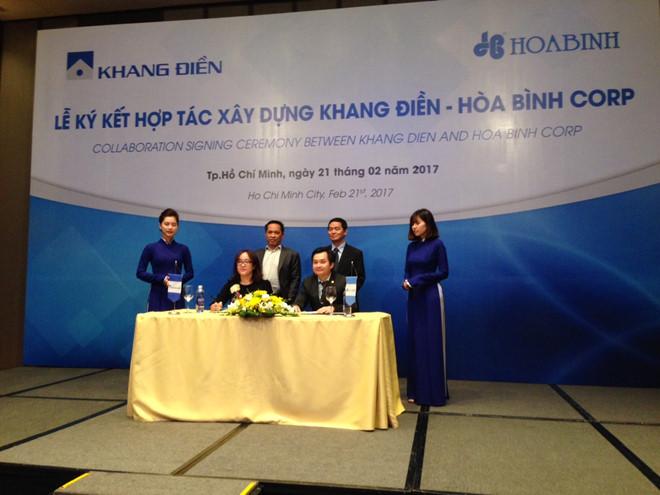 KDH và HBC ký kết hợp đồng D&B gần 1.000 tỷ đồng