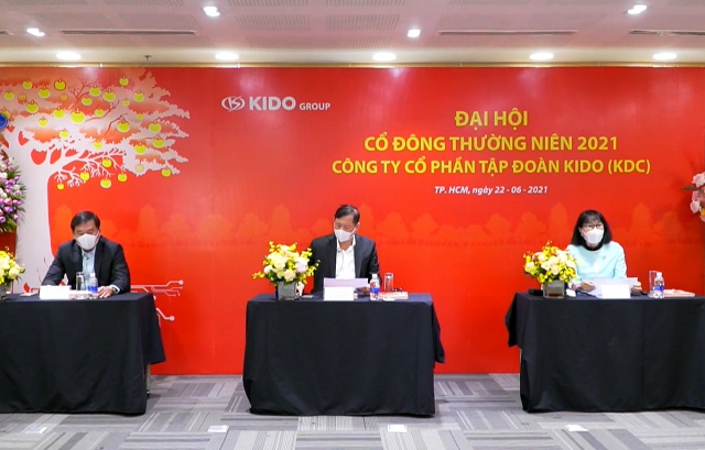 ĐHĐCĐ KDC: Thời điểm ra mắt sản phẩm trì hoãn vì Covid-19, tái cấu trúc mở rộng thêm ngành hàng
