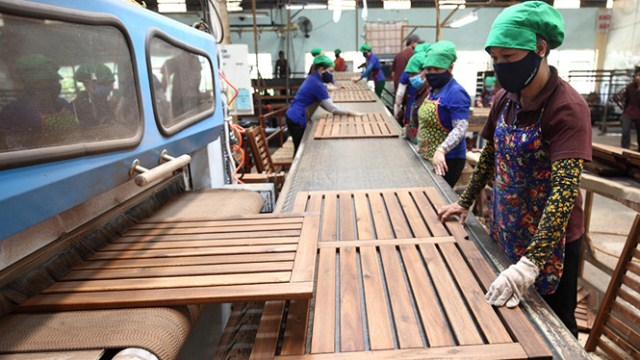 Xuất khẩu lâm sản 5 tháng đạt 3,43 tỉ USD, dẫn đầu ngành nông nghiệp