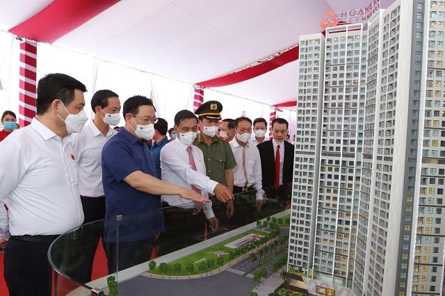 TCH khởi công xây dựng Dự án Hoang Huy Commerce
