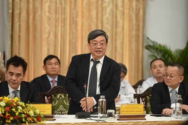 """""""Đối thoại 2045"""": Đại diện VinFast chia sẻ về giai đoạn mới, Chủ tịch Masan hiến kế nâng cao năng lực cạnh tranh"""