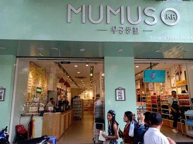 Mã số thuế của Mumuso trùng với một công ty Việt Nam