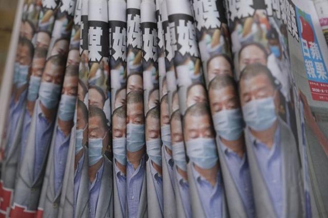Cổ phiếu Hồng Kông tăng gấp 10 lần sau khi ông trùm truyền thông bị bắt