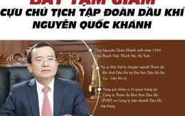 [Infographics] Cựu chủ tịch Tập đoàn Dầu khí Nguyễn Quốc Khánh vướng lao lý
