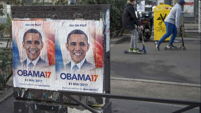 Vì sao ông Obama xuất hiện trong bầu cử Pháp?