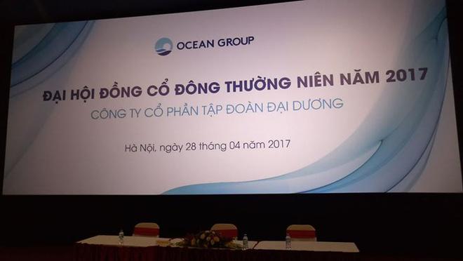 ĐHCĐ Ocean Group: Như thường lệ, Đại hội lần 1 không đủ điều kiện tiến hành do không đủ tỷ lệ tham dự