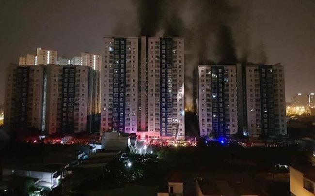 Bộ Xây dựng lên tiếng về vụ cháy chung cư Carina Plaza làm 13 người chết