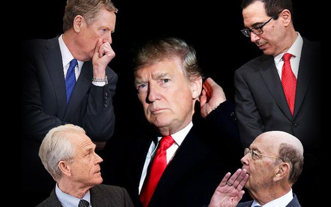 """""""Long tranh hổ đấu"""" ở Nhà Trắng và những chuyện chưa kể đằng sau chính sách thương mại xoay như chong chóng của ông Trump"""