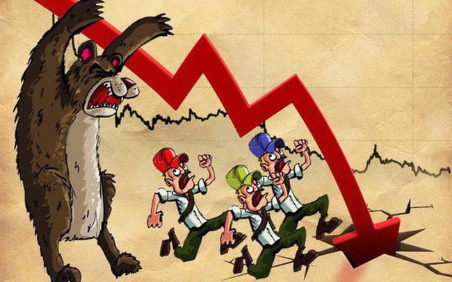 """Chân dung những """"tội đồ"""" khiến VNIndex bốc hơi 92.000 tỷ, chứng kiến phiên giảm mạnh nhất trong gần 2 tháng qua"""