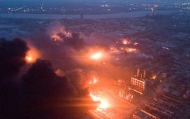 Hiện trường nổ nhà máy hóa chất Trung Quốc khiến gần 700 người thương vong