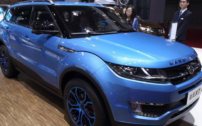 """Tòa án Trung Quốc ra lệnh cấm bán xe Range Rover """"nhái"""""""