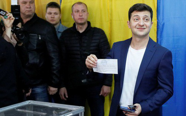 Bầu cử Ukraine: TT Poroshenko đại bại, danh hài Zelensky giành chiến thắng áp đảo với 73% phiếu bầu