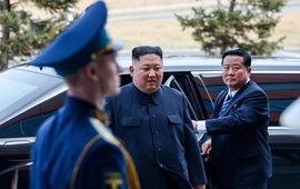Những hình ảnh ấn tượng nhất tại Hội nghị thượng đỉnh Kim-Putin lần đầu tiên