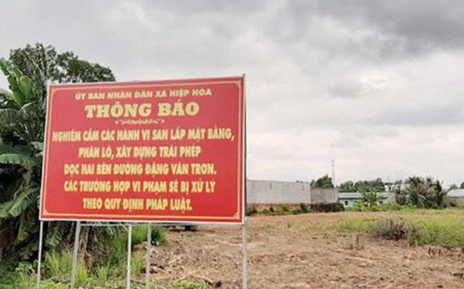 """""""Cò"""" hét giá đất Biên Hòa lên tận nóc"""