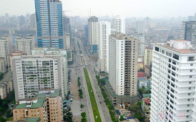 Thanh tra quy hoạch đường ngột thở ở Hà Nội hơn 2km 'nhồi' 40 cao ốc