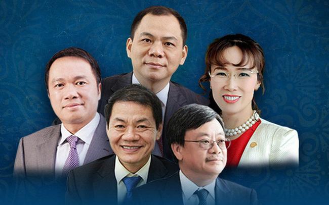 """Danh sách tỷ phú giàu nhất hành tinh: Chủ tịch Phạm Nhật Vượng rời top 250, CEO Nguyễn Thị Phương Thảo rời top 1.000, riêng ông chủ Masan """"mất tích"""" khỏi BXH"""