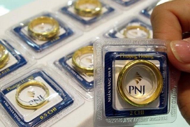 PNJ bán vàng miếng thu bình quân hơn 14 tỷ đồng/ngày