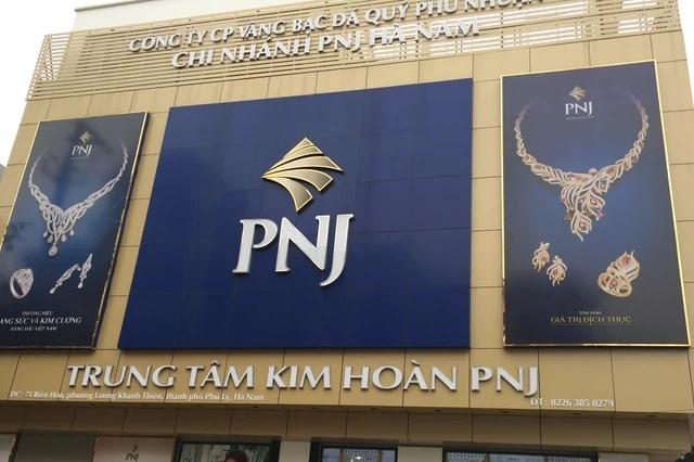 Vi phạm hành chính về thuế, PNJ bị phạt và truy thu hơn 1 tỷ đồng