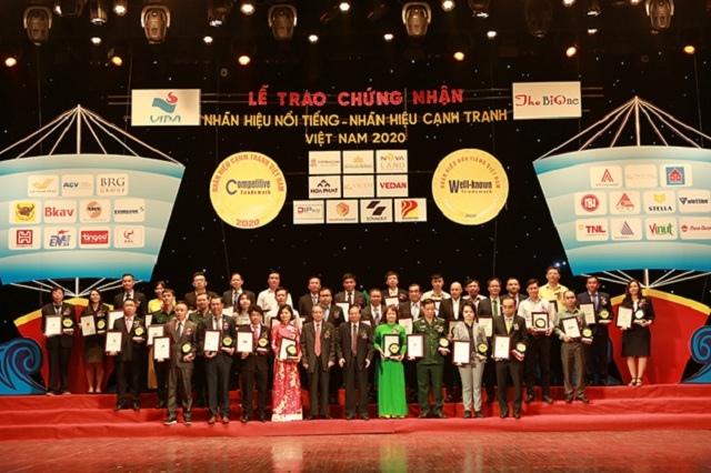 Dầu khí Nam Sông Hậu được xếp hạng 'Top 50 Nhãn hiệu nổi tiếng Việt Nam năm 2020'