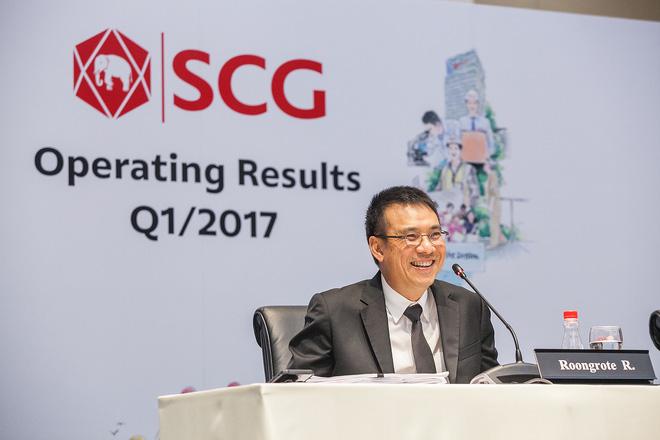 Ngành hóa dầu tăng trưởng mạnh, lợi nhuận quý 1/2017 của tập đoàn SCG đạt hơn 11.000 tỷ đồng