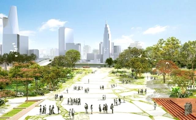 UBND Thành phố kiến nghị đặt tên Quảng Trường TP.HCM