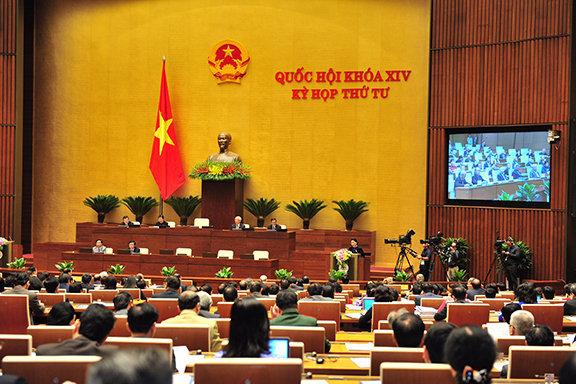 Sáng nay, khai mạc Kỳ họp thứ 5, Quốc hội khóa XIV